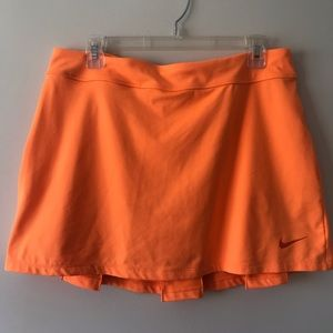 Nike Orange Golf Skirt L